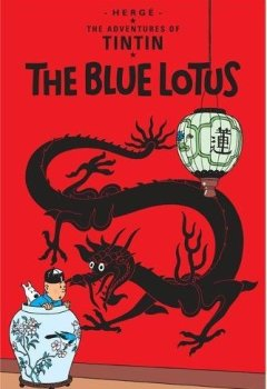 Livres Couvertures de The Adventures of Tintin : The blue Lotus