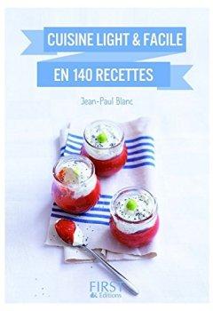 Livres Couvertures de Petit livre de - Cuisine light et facile en 140 recettes