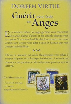 Livres Couvertures de Guérir avec l'aide des anges : Cartes oracles