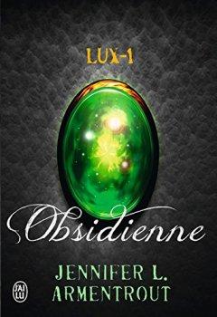 Livres Couvertures de Lux (Tome 1) -  Obsidienne