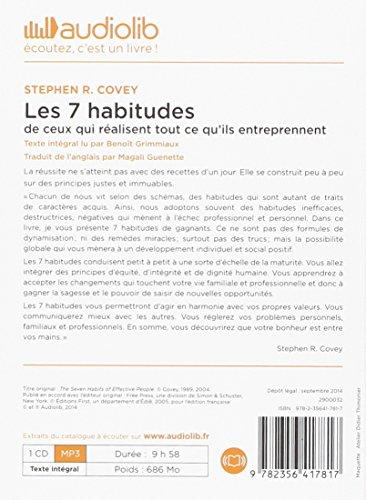 7 COVEY LES STEPHEN TÉLÉCHARGER DE HABITUDES