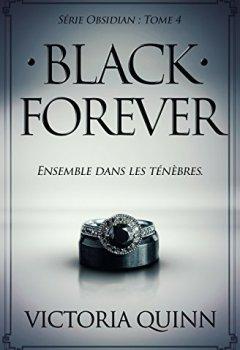 Livres Couvertures de Black Forever (French) (Obsidian t. 4)