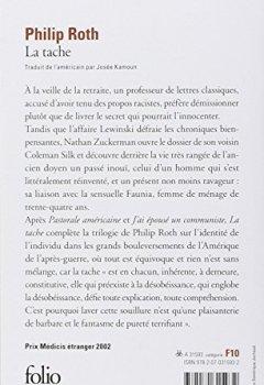 Livres Couvertures de Les livres de Zuckerman:La tache