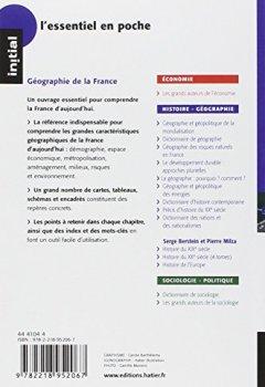 Livres Couvertures de Initial - Géographie de la France