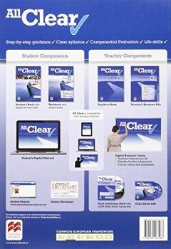 Portada del libro deALL CLEAR 2 Wb Cast - 9780230467088