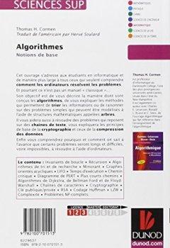 Livres Couvertures de Algorithmes - Notions de base
