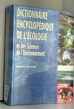 Livres Couvertures de Dictionnaire encyclopédique de l'écologie et des sciences de l'environnement