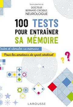 Livres Couvertures de 100 tests pour entraîner sa mémoire