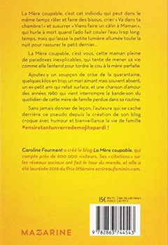 Livres Couvertures de La Mère coupable: Pourquoi vivre d'amour et d'eau fraîche quand on peut vivre de lessives et de mojitos