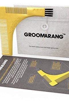 Livres Couvertures de Groomarang - Peigne & Pochoir pour le rasage - traceurs de contours pour barbe
