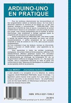 Livres Couvertures de Arduino-uno en pratique : Formation en 25 applications modulaires