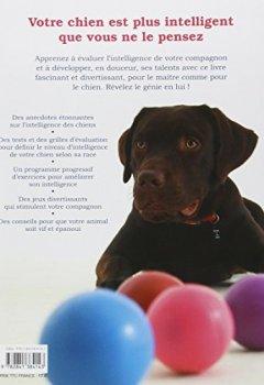 Livres Couvertures de Mon chien est un génie : Comment stimuler l'intelligence de son chien en s'amusant
