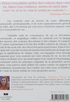 Livres Couvertures de Se connaître par les couleurs - coffret de 77 cartes + livre explicatif
