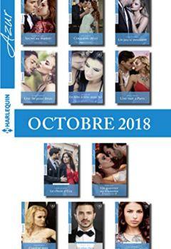 Livres Couvertures de 11 romans Azur (nº 4004 à 4014 - Octobre 2018)