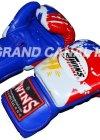 TWINS本革製ボクシンググローブ トリコロール16oz パッキャオ
