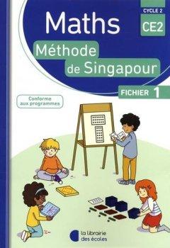 Livres Couvertures de Mathématiques CE2 Cycle 2 Méthode de Singapour : Fichier 1