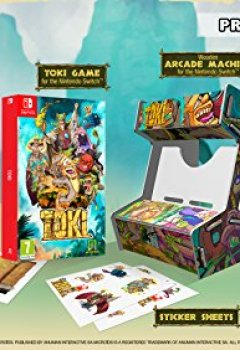 Livres Couvertures de Toki Collector's Edition Switch