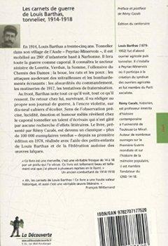 Livres Couvertures de Les carnets de guerre de Louis Barthas, tonnelier 1914-1918