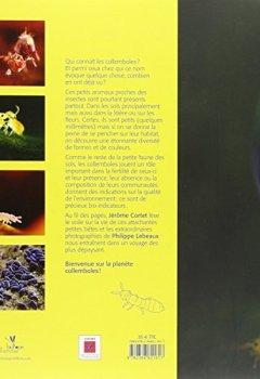 Livres Couvertures de Planète Collemboles : La vie secrète des sols