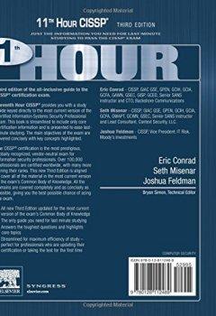 Livres Couvertures de Eleventh Hour CISSP®: Study Guide