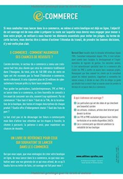 Livres Couvertures de E-commerce : Tout savoir avant de créer une boutigne en ligne !