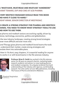 Livres Couvertures de Brand Therapy: 15 Techniques for Creating Brand Strategy in Pharma and Medtech