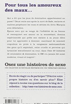 Livres Couvertures de Osez 20 histoires de soumission & domination