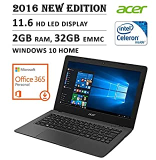 Specifications: Reach for the Cloud:Stay productive and connected to what matters wherever you are with the Acer Aspire Cloudbook. This lightweight 11-inch laptop comes with one-year subscriptions to Office 365 Personal and online OneDrive st...