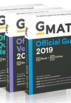 Livres Couvertures de Gmat Official Guide 2019