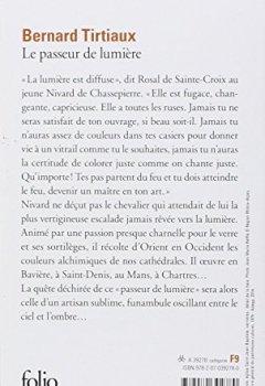 Livres Couvertures de Le Passeur de lumière: Nivard de Chassepierre maître verrier
