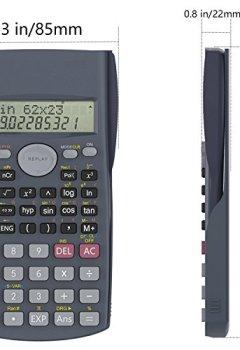 Livres Couvertures de Calculatrice Scientifique, Helect 2 lignes Calculatrice scientifique - H1002