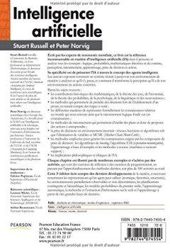 Livres Couvertures de Intelligence artificielle 3e édition : Avec plus de 500 exercices