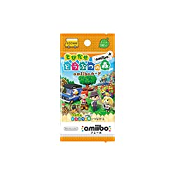 『とびだせ どうぶつの森 amiibo+』amiiboカード (1BOX 20パック入り)