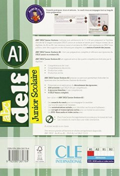 ABC DELF Junior scolaire - Niveau A1 - Livre + DVD de Indie Author