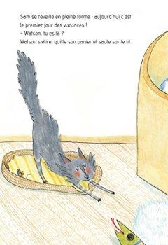Livres Couvertures de Sam & Watson voient avec le coeur