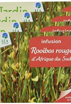 Livres Couvertures de Jardin BiO Rooibos Rouge d'Afrique du Sud 20 Sachets 34 g - Lot de 4