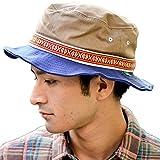 バケットハット 帽子 メンズ レディース <ベージュ> ハット 大きいサイズ Nakota (ナコタ) アクティビティ フェス ハット 62cm 調節可能 アウトドア サファリハット 山