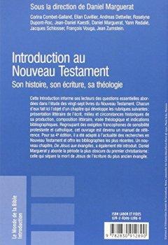 Livres Couvertures de Introduction au Nouveau Testament : Son histoire, son écriture, sa théologie
