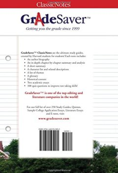 Livres Couvertures de GradeSaver (TM) ClassicNotes: The Absolutely True Diary of a Part-Time Indian