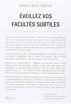 Livres Couvertures de Coffret Eveillez vos facultés subtiles : Avec 75 cartes illustrées