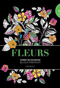Livres Couvertures de Black Premium Fleurs