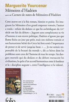 Livres Couvertures de Mémoires d'Hadrien,  suivi de Carnets de notes de Mémoires d'Hadrien