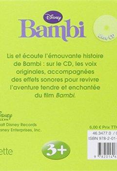 Livres Couvertures de Bambi, MON PETIT LIVRE-CD