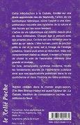 Livres Couvertures de L'arbre de vie : Introduction à la Cabale