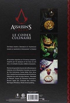 Livres Couvertures de Assassin's Creed, Le Codex Culinaire: Recettes de la Confrérie des Assassins