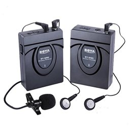 BOYA-BY-WM5-24GHz-Wireless-Lavalier-Microphone-System-for-Canon-Nikon-Sony-DSLR-Camera-Camcorder-Audio-Recorder