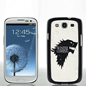 Game Of Thrones Winter Is Coming - Samsung Galaxy S III Hard Shell Snap-On Protective Cover Case
