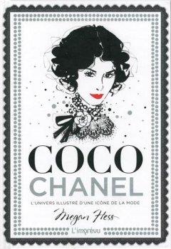 Livres Couvertures de Coco Chanel : L'univers illustré d'une icône de la mode
