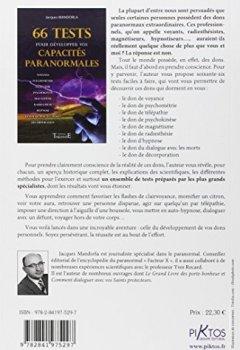Livres Couvertures de 66 Tests pour développer vos capacités paranormales