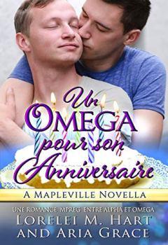 Livres Couvertures de Un oméga pour son anniversaire: Une Romance MPreg Entre Alpha et Omega